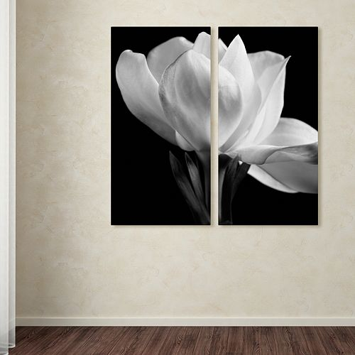 Trademark Fine Art ''Gardenia'' 2-pc. Wall Art Set