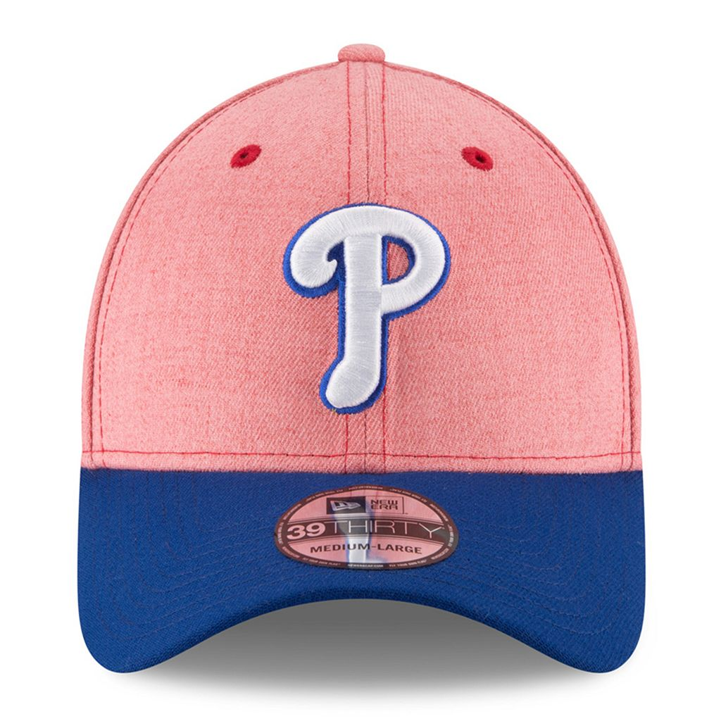 Adult New Era Philadelphia Phillies 39THIRTY Change Up Flex-Fit Cap