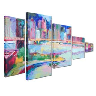 Trademark Fine Art ''Brooklyn'' 5-pc. Wall Art Set