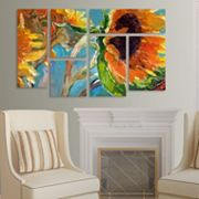 Trademark Fine Art ''Sun 11'' 6 pc Wall Art Set