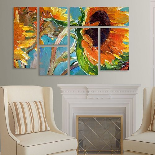 Trademark Fine Art ''Sun 11'' 6-pc. Wall Art Set