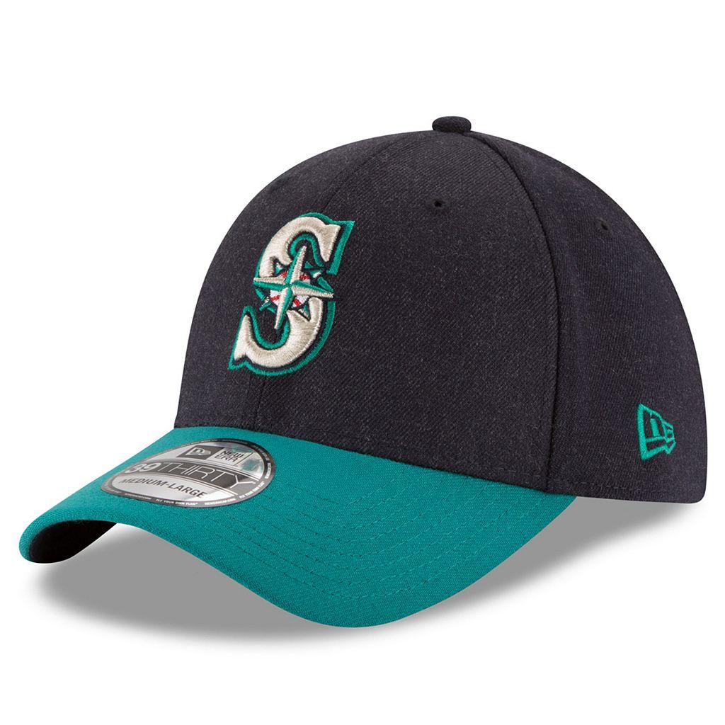 Adult New Era Seattle Mariners 39THIRTY Change Up Flex-Fit Cap