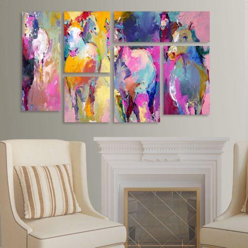 "Trademark Fine Art ""Wild"" 6-pc. Wall Art Set"
