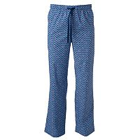 Men's Croft & Barrow® Flamingo Chambray Stretch Lounge Pants