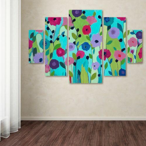 "Trademark Fine Art ""Spring Returns"" 5-pc. Wall Art Set"