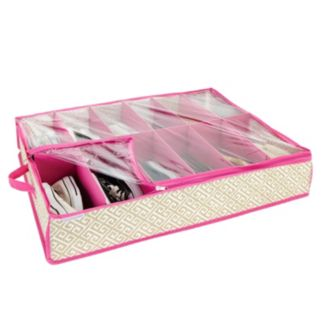 ClosetCandie Hot Pink Under-The-Bed Shoe Box