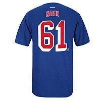 Men's Reebok New York Rangers Rick Nash Premier Tee