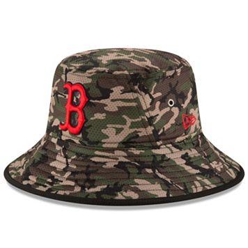 Youth New Era Boston Red Sox Redux Camo Bucket Hat
