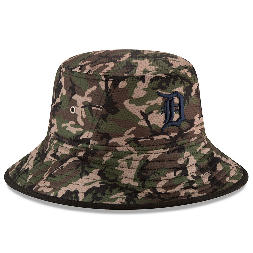 Youth New Era Detroit Tigers Redux Camo Bucket Hat