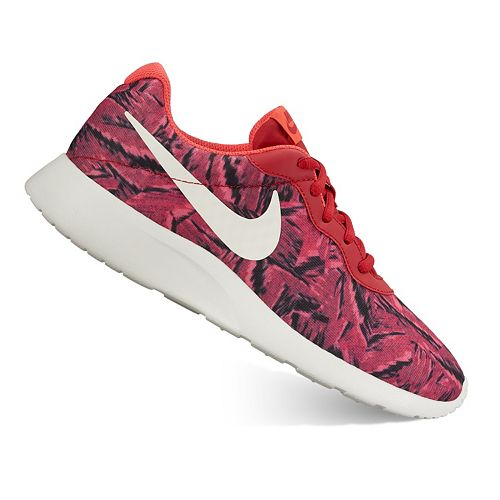 look good shoes sale reasonably priced discount shop Nike Tanjun Women's Camo Print Athletic Shoes