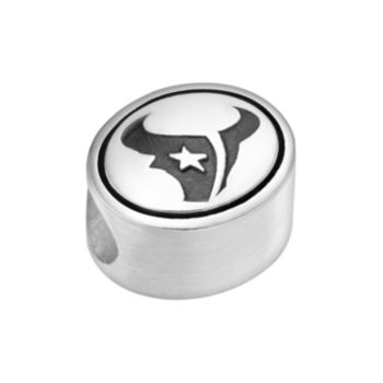 Sterling Silver Houston Texans Logo Bead