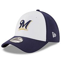 Adult New Era Milwaukee Brewers 39THIRTY 2 Tone Flex-Fit Cap