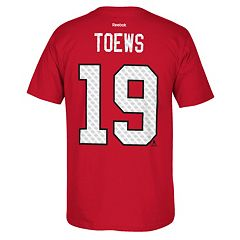 Men's Reebok Chicago Blackhawks Jonathan Toews Matrix Tee