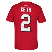 Men's Reebok Chicago Blackhawks Duncan Keith Matrix Tee