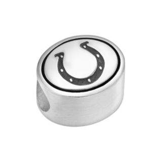 Sterling Silver Indianapolis Colts Logo Bead