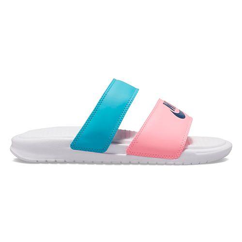 info for 63059 2dbb0 Nike Benassi Duo Ultra Women's Slide Sandals