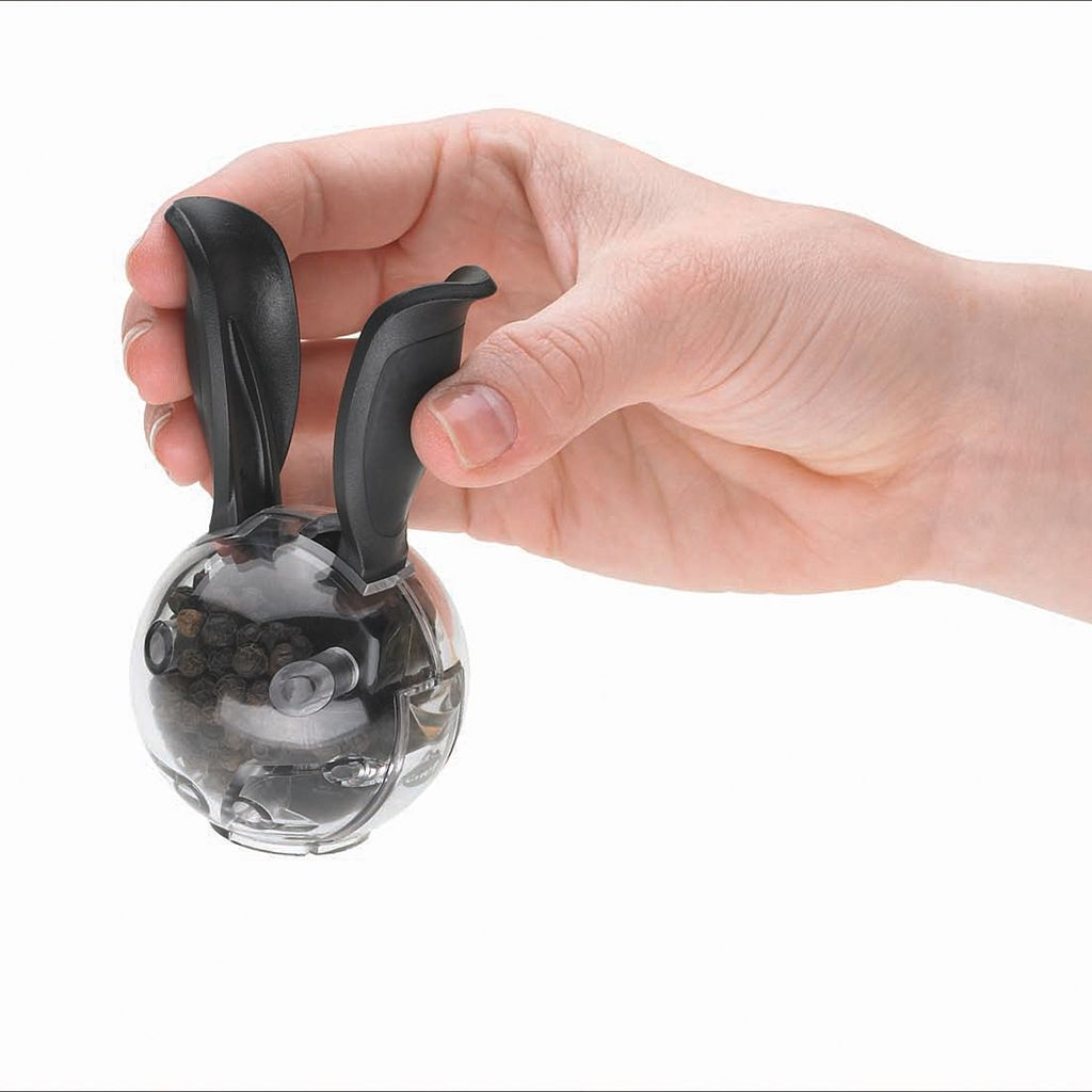 Chef'n Mini Magnetic Rabbit PepperBall Grinder