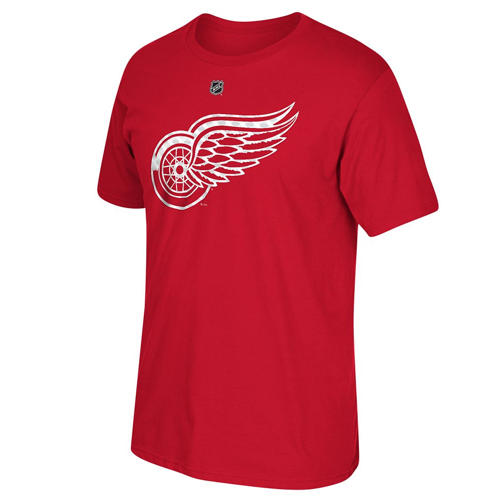 Men's Reebok Detroit Red Wings Henrik Zetterberg Matrix Tee