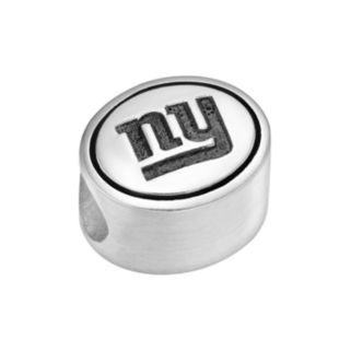 Sterling Silver New York Giants Logo Bead