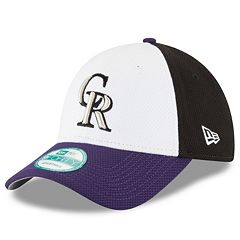 Adult New Era Colorado Rockies 9FORTY Performance Block Adjustable Cap