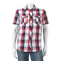 Men's Helix™ Plaid Button-Down Shirt
