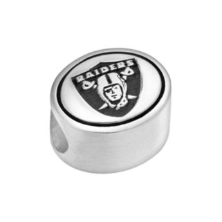Sterling Silver Oakland Raiders Logo Bead
