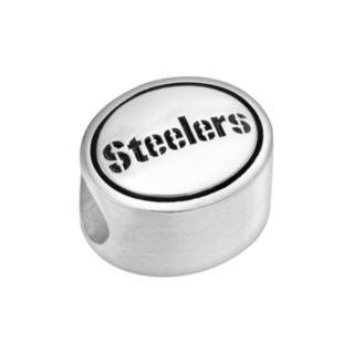 Sterling Silver Pittsburgh Steelers Logo Bead