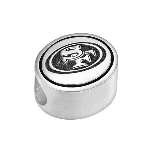 Sterling Silver San Francisco 49ers Logo Bead