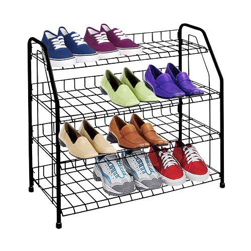 Sunbeam 4 Tier Shoe Shelf