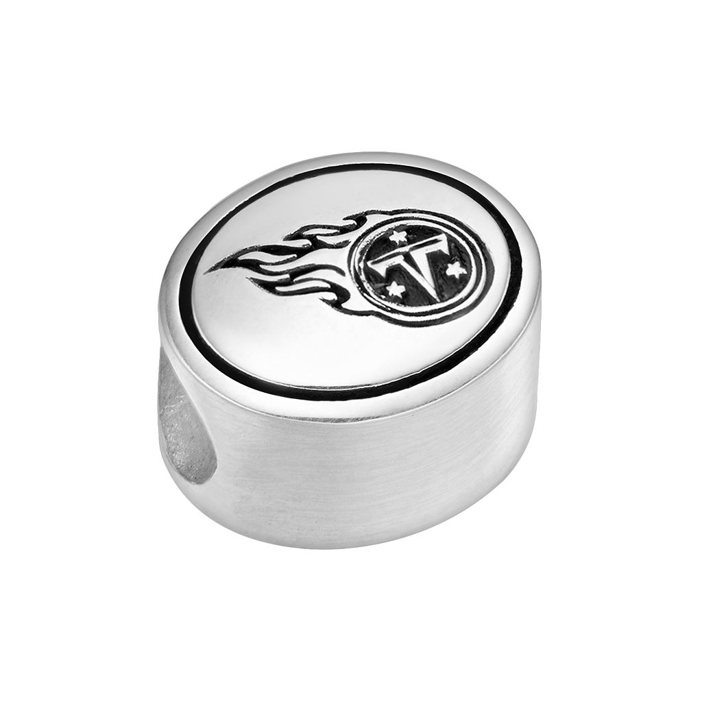 Sterling Silver Tennessee Titans Logo Bead