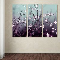 Trademark Fine Art ''Somewhere Over The Rainbow'' 3-pc. Canvas Wall Art Set