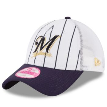 Women's New Era Milwaukee Brewers 9TWENTY Truck Lust Snapback Cap