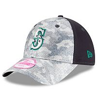 Women's New Era Seattle Mariners 9FORTY Glamo Camo Adjustable Cap