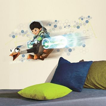 Disney's Miles From Tomorrowland Miles & Merc Peel & Stick Giant Wall Decal