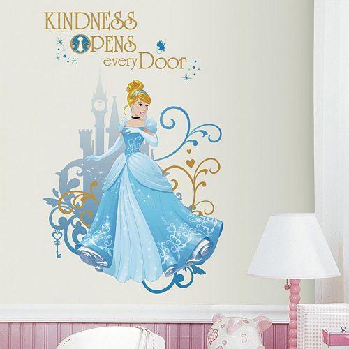 Disney Princess Cinderella Peel & Stick Giant Wall Decal