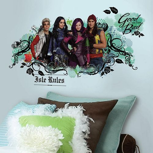 Disney's Descendants Isle of the Lost Peel & Stick Wall Decal