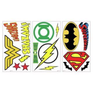 DC Superhero Logos Peel & Stick Wall Decals