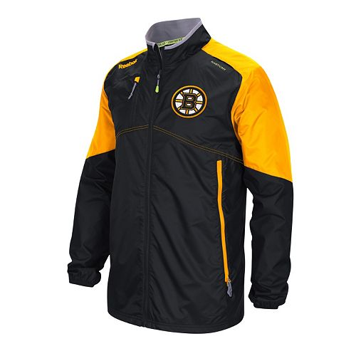 b55e6748377d9 Men's Reebok Boston Bruins Center Ice Rink Jacket