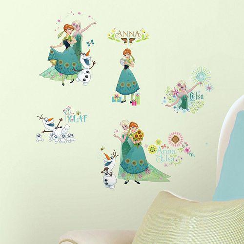 Disney's Frozen Fever Peel & Stick Wall Decals