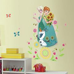 Disney's Frozen Anna, Elsa & Olaf Peel & Stick Giant Wall Decal