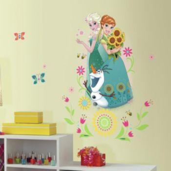 Disney's Frozen Anna, Elsa & Olaf Peel & Stick Giant Wall Decal