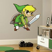Zelda: Spirit Tracks Peel & Stick Giant Wall Decal