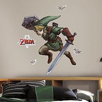 Zelda: Twilight Princess Peel & Stick Giant Wall Decals