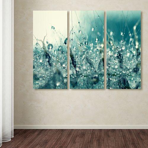 Trademark Fine Art \'\'Under The Sea\'\' 3-pc. Wall Art Set