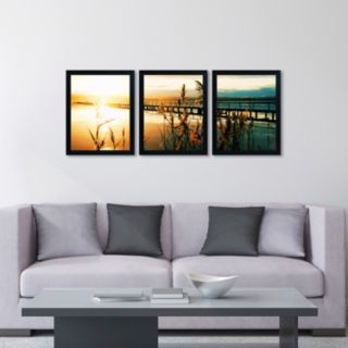 Trademark Fine Art ''Wish You Were Here'' 3-pc. Wall Art Set