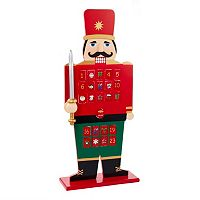 Wooden Advent Calendar Nutcracker