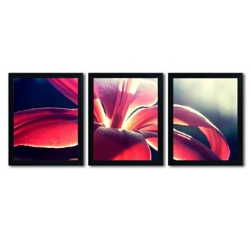 Trademark Fine Art ''Lady In Red'' 3-pc. Wall Art Set
