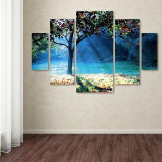 Trademark Fine Art ''Rays Of Hope'' 5-pc. Wall Art Set