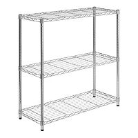 Honey-Can-Do 3 Tier Chrome Storage Shelves