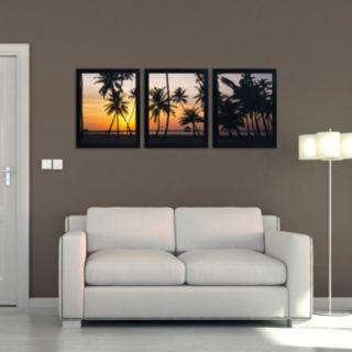 Trademark Fine Art ''Palm Dream'' 3-pc. Wall Art Set